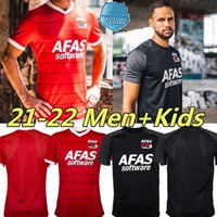 2021 2022 AZ Alkmaar Soccer Jersey Home Away Gudmundsson Stengs Koopmeiners Boadu de Wit Karlsson Evjen 21/22 Homens Kits Kits Football Shirt