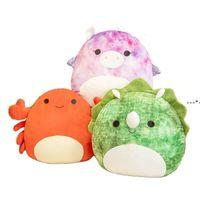 Squishmallow Movies Plush toys Stuffed Animals Cat Dinosaur Lion Soft Pillow Animal Doll toy 25 cm HWA7694