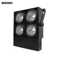 SHEHDS Bühnenbeleuchtung 400W LED COB-Blinder cool und warmweiß für DJ-Disco-Partei schnelle Lieferung