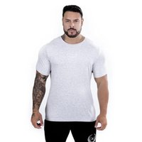 Men's Shorts Muscle Rhino Sports Fitness Summer Fashion Running T-shirt European And American Short Sleeve Trend