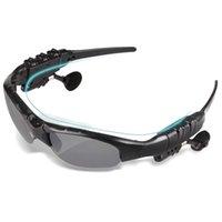 선글라스 야외 스마트 안경 블루투스 무선 헤드셋 스포츠 스테레오 MP3 플레이어 스마트 폰용 마이크와 무선 이어폰 안경