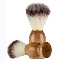 Men's Beard Brushes With Natural Wooden Handle Household Cleansing Brush Facial Care Beauty Tools Free DHL