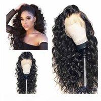 Натуральные черные длинные странные кудрявые волосы дешевые синтетические кружева передние парики Детские волосы высокотемпературные волокон мягкие кружевные парики для черных женщин
