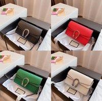 أكياس مصمم فاخرة جلدية المرأة حقيبة الكتف على شكل حرف Ulaid محافظ الكلاسيكية رسائل الأزياء محفظة المرأة حقيبة يد