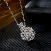 Silver Love bijoux creux de parfum bouteille d'huile essentielle Diffuseur Collier femme Gold Pingente Colliers Pendentifs