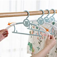 Hangers & Racks 5 10pcs Clothes For Child Non-slip Windproof Drying Baby Coat Holders Home Clothing Wardrobe Storage Organization