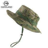 التكتيكية القناص التمويه boonie القبعات النيبالية كاب المتقدمة الجيش رجل المشي القبعات الصيف دلو الصيد قبعة