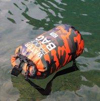 ماء للطي خفيفة الوزن المحيط حزمة العائمة القوارب pvc حقيبة الظهر حقيبة كبيرة المحمولة كاياك الانجراف الغوص التخييم السباحة المياه الرياضية الهاتف الحقيبة