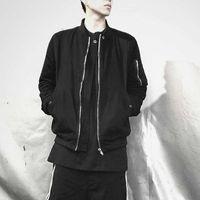Oneofyou dark pioneer classic solid jacket men's ro style designer high street MA-1 flying jacket UQR3