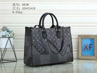 large capacity totes fashion sac designers shoulder bags woman handbag duplex print toron handle lady shopping bag for women purse 1-8LVLOUIS1VITTON J33
