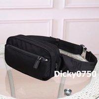 Dicky0750 Tasarımcı Bel Çantası Klasik Paraşüt Kumaş Omuz Çantaları Tasarımcılar Erkekler Kadınlar Çok Fonksiyonlu Göğüs Cepler Moda Depolama Toptan