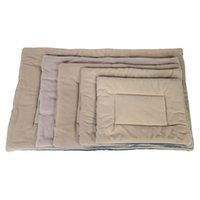 kennels & pens Washable Soft Silk Wadding Bed Pad Mat Cushion for Pet brown M tender and high quality Comfortable free delivery