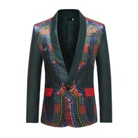 Men's Suits & Blazers Single Fashion Winter Warm Coat Casual Men Print Cutton Blazer Masculino Jacket Slim Fit Heren Colberts Americana Homb