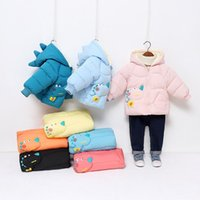 Down Coat Bear Leader Winter Long Thick Jacket For Girl Boys Clothes Hooded Parka Kids Snowsuit Outerwear Clothing
