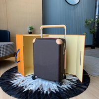 Designer di lusso Viaggio Valigia bagaglio Modo Unisex Bach Bag Bag Flowers Lettere Borsa Box BACK BORSA SPINNER URUSTAL RUOTA DUFFEL BAGS
