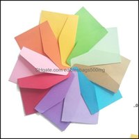 Wrap Event Festive Party Supplies Home & Gardenmini Craft Card Postcard Wedding Gift Invitation Envelope Office Stationery Paper Bag Ewd8632