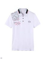 2021 tshirt verão casual polo respirável qualidade superior bordado lapela de algodão confortável camisetas para homens tamanho asiático M-3XL