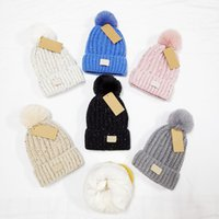 New Fashion Hair Ball Beanie Brand Men Women Winter And Autumn Warm Thick High Quality Breathable Fitted Bucket Hat Elastic With Logo Knitted Caps U0090161