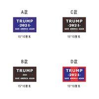 2024 ترامب ملصقات الانتخابات الرئاسية الأمريكية الأزياء ذاتية اللصق خطابات المطبوعة مصغرة ملصقا المنزل نافذة الوجه سيارة الثلاجة ملصقا G86NHF8