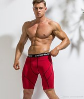 2020 Laufen Shorts Fitness Shorts Herren Kompressionsfiguren Shorts Fitness Laufgarn Training Unterwäsche Männer Fitness Wear Spandex Tight Fit