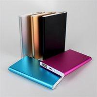 Ultra dunne slanke powerbank 8800mAh ultradunne powerbank voor mobiele telefoon tablet pc externe batterij