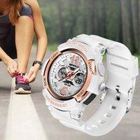 Diseñador Luxury Brand Watches Hion Women Sports G Impermeable Digital LED LED Damas Choque Militar Electrónico Armario Reloj de muñeca Reloj Reloj