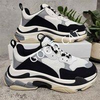 2021 triple s رجل إمرأة عارضة الأحذية الأزياء الفضلات المصممين خمر أحذية رياضية أسود أبيض رمادي الأرجواني تنس المدربين الاطفال المشي في الهواء الطلق حجم اليورو 36-45