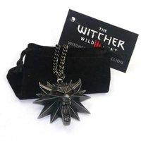 Wholale Witcher 3 Wild Hunt Game Down Men Wolf Ожерелье