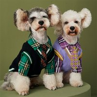 Classic Solid Color Dogs Vest Dog Apparel Fashion Sweater Without Sleeve Fall Winter Pet Supplies College Style