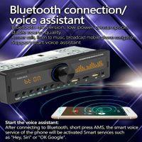 SWM-80A Bluetooth Single 1 Din Car Radio Dual Pantalla Dual Pantalla Multimida MP3 Reproductor de audio Copia de audio TF USB AUX-INPUT LOCALADOR AUTO STEREO CABEZA