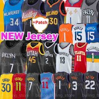 Phoenix Suns Brooklyn Nets Golden State Warriors Devin 1 Booker Jersey Chris 3 Paul Trae 11 Young Kevin 7 Durant Antetokounmpo Baloncesto Deandre Giannis Ayton Curry Harden Irving
