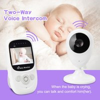 Video Baby Monitor With Infrared Night Vision, Two Way Talk Back, Room Temperature, Lullabies, Long Range High Capacity Battery Monitors