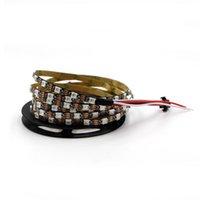 스트립 라이트 60 / 144leds 픽셀 프로그래밍 가능한 개별 주소 지정 가능한 8mm 좁은 폭 WS2812B 3535 RGB LED 쫓는 디지털 램프 스트립