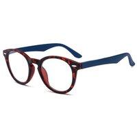 Designer Ray Sonnenbrille Retro Frühlingsscharnier Lesebrille Männer Frauen Runde Leopardenrahmen Brillen Vintage Ultraleicht Hyperopie +1.0 bis 4.0