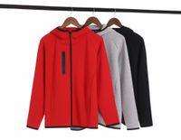 2021 бегущий фитнес куртки пальто осень зима большого размера мужская капюшона спортивная одежда Windrunneor модный досуг спортивный пиджак