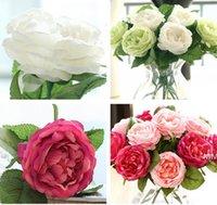 الساحرة الحرير الاصطناعي الزخرفية الزهور النسيج الورود الفاينيس زهرة لحفل الزفاف home فندق ديكور HWD7078