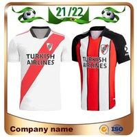 21/22 rivière Home Jersey de football blanc 2021 Carrascal de la Cruz Pratto Borre Pinola Shirt Riverbed Ponzio M.Suarez Uniforme de football