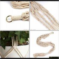 Plant Hangers Macrame Rope Pots Holder Rope Wall Hanging Planter Hanging Basket Plant Holders Indoor Flowe jllvbv best_shop1