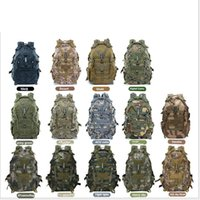 A32 Outdoor backpack camouflage tactical Bag backpack sports backpack can hang waist bag