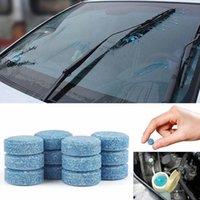 Herramientas de limpieza de automóviles 10pcs Limpiador de parabrisas Tabletas efervescentes Detergente Compacto Lavadora de vidrios Belleza Accessarios