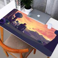 마우스 패드 손목은 테라 리아 게임 매트 패드 DIY HD 디자인 키보드 용 대형 마우스 패드 내구성 빨 수있는 고무 카펫 홈 마우스 패드