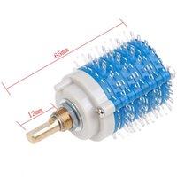 Tapones de alimentación inteligentes 1pc 4 Poste 24 Paso 4 * 24 Attenuador de interruptor giratorio Control de volumen DIY Potenciómetro