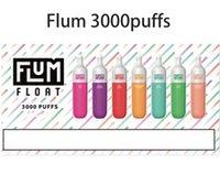좋은 품질 플럼 플로트 일회용 vape 펜 전자 담배 3000 퍼프 1250mAh 8.0ml e 증기 포드 럭스 최대 포드 장치 키트