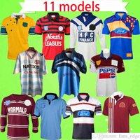 Leghe di rugby maglie retro Australia Sydney Bear Bulldogs Francia Highland Lanholton Manly Seahawks Manly Seahawk Blues Maru Vintage Shirt Top Uniformi