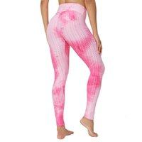 Sexy leggings 2021 fitness più colorato push up legins allenamento allenamento vestiti da palestra spandex stampato grandi dimensioni donne