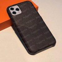 Los mejores diseñadores de cuero Estuches para teléfono para iPhone 13 Pro Max 12 Mini 11 XS XR x 8 7 Plus Diseñador de moda Imprimir Tapa de la tarjeta Slot Luxury Mobile Shell con estuche de bolsillo