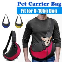 Dog Car Seat Covers Pet Puppy Carrier Outdoor Travel Handbag Pouch Mesh Oxford Single Shoulder Bag Sling Comfort Tote