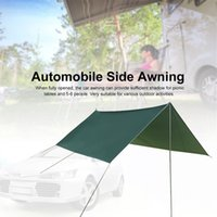 Car Side Awning Shade Windproof Rainproof Auto Tent Canopy Camping Anti-UV Waterproof For Family Outdoor Beach Travel Tents And Shelters