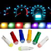 T5 светодиодные фонари W1.2W W3W автомобиль интерьер света автоматического бокового клина приборной приборной инструмент лампа лампы 4014 супер яркая чрезвычайная ситуация