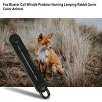 Outdoor Fox Down Foxes Blaster Call Whistle Predator Hunting Tools Camping Calling Rabbit Game Caller Animal